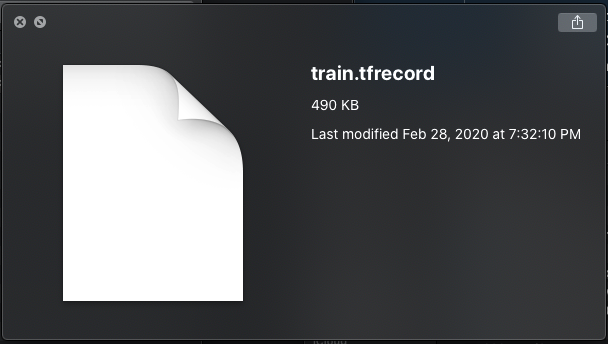 Quicklook Screenshot: train.tfrecord 490KB