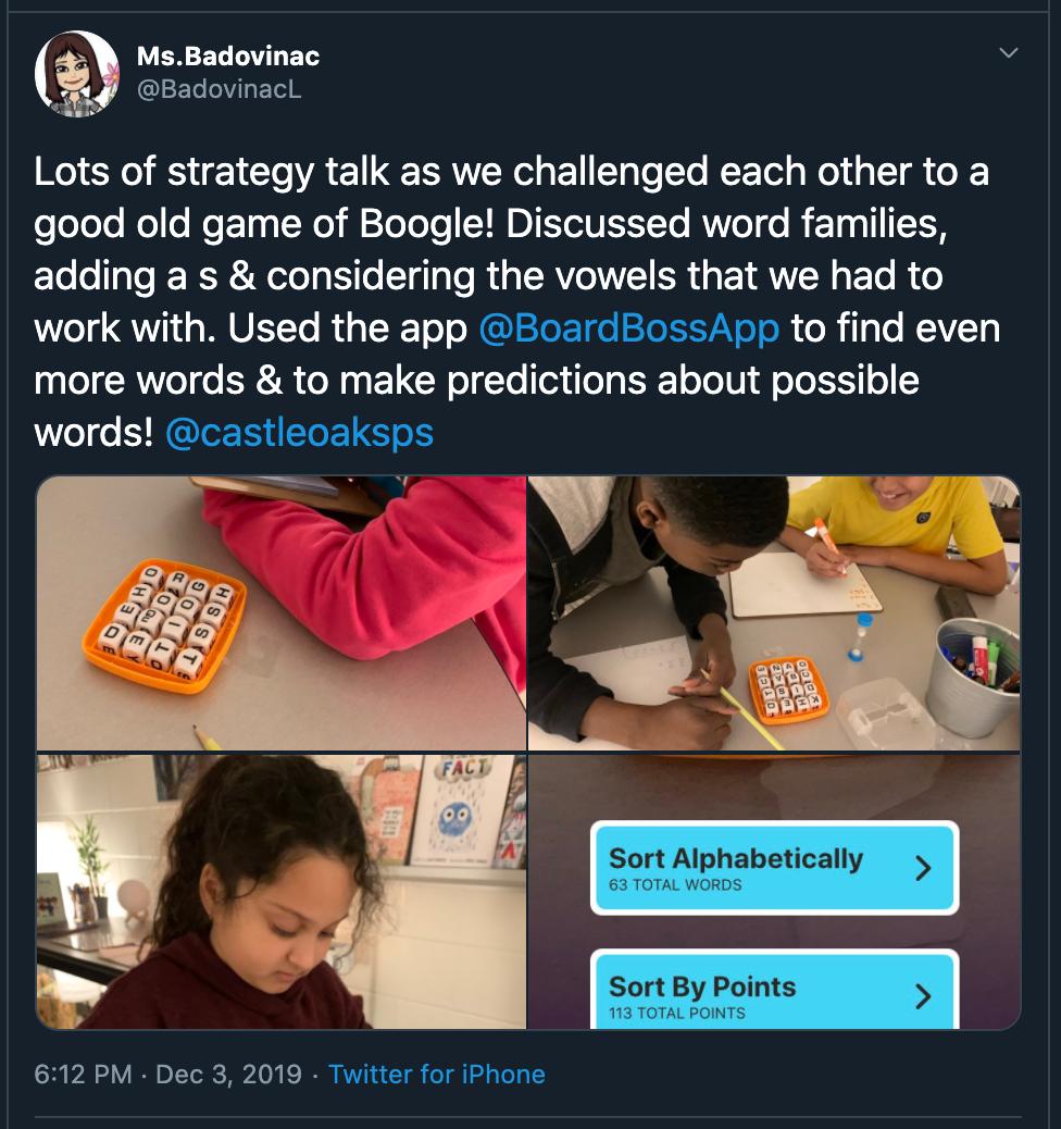 BoardBoss improves education in Canada.