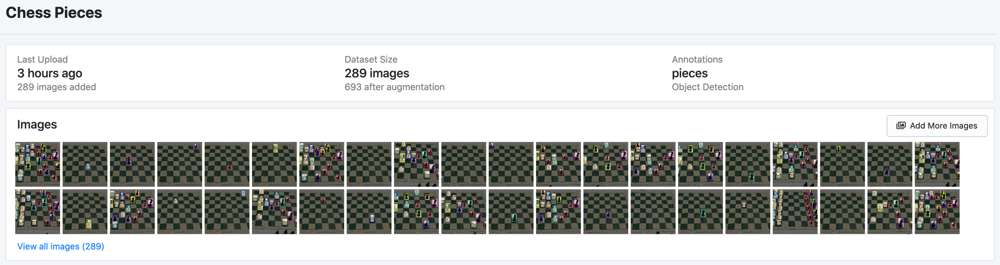 Add more images to a dataset in Roboflow.