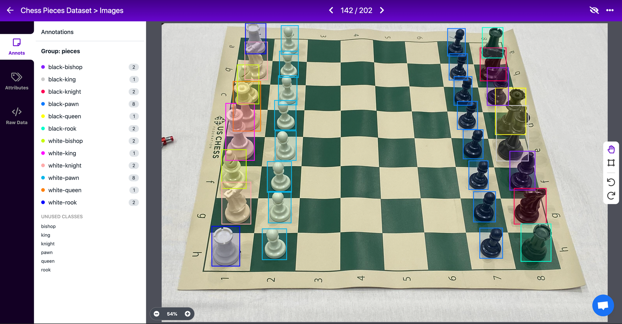 Create specific class names for labels, like in chess, we have specific pieces.