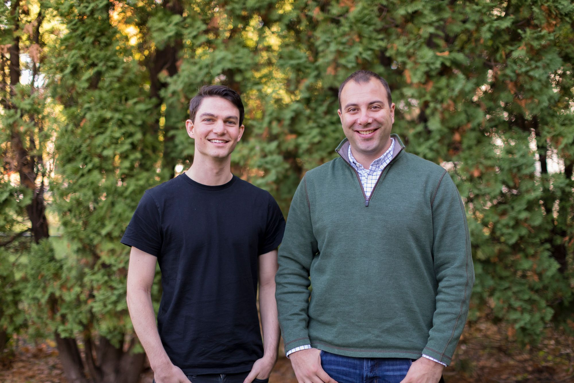 Roboflow co-founders, Joseph Nelson and Brad Dwyer